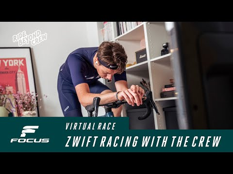 Zwift racing with the Ride Beyond Crew