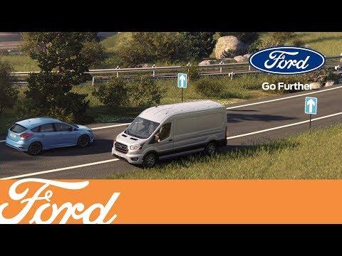 Nye Ford Transit – Varsel om kjøring mot kjøreretning | Ford Norge