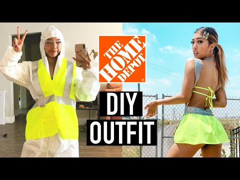 I MADE AN OUTFIT FROM THE HOME DEPOT (aka ho improvement)