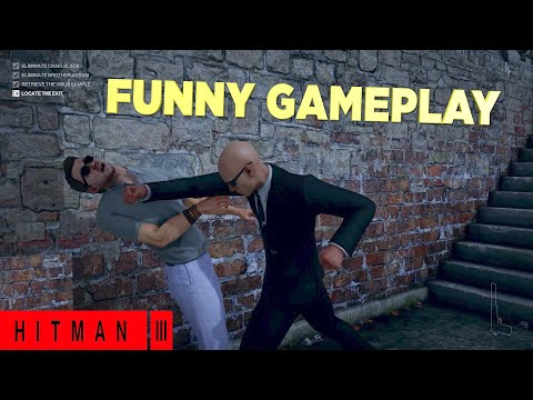 WENT ON A NECK SNAPPING SPREE! ( FUNNY  HITMAN 3  SIDE MISSION #2)