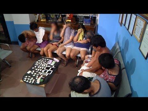 9 na indibidwal, arestado sa pagsalakay ng mga otoridad sa isang drug den sa Makati City