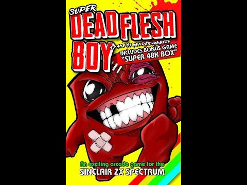 BITeLog 0084: Dead Flesh Boy + Super 48k Box (ZX SPECTRUM) LONGPLAY