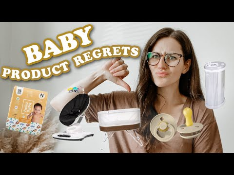 BABY PRODUCTS I REGRET + WILL NEVER BUY! 2021