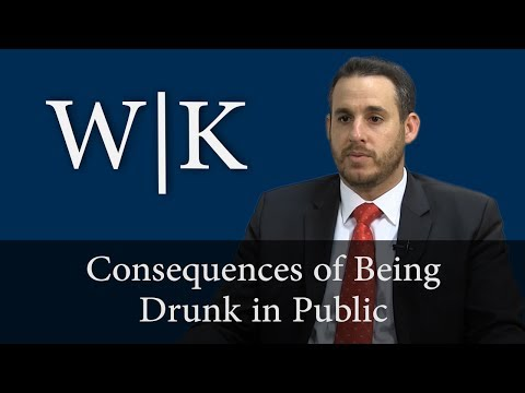 Consequences of a Drunk in Public Conviction in California