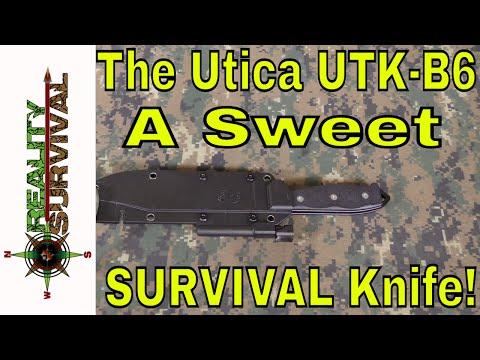 One Sweet Survival Knife! The Utica UTK-B6