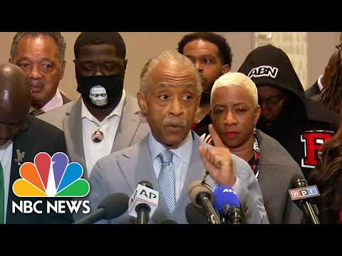 'The War And The Fight Is Not Over': Rev. Al Sharpton Reacts To Chauvin Guilty Verdict | NBC News