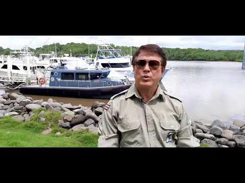 Rafael Gutierrez, director ejecutivo del SINAC sobre nueva embarcacion para Isla del Coco