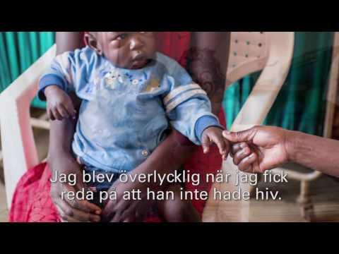 Martha lever med hiv, men hennes son föddes frisk