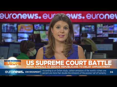US Supreme court battle: Biden appeals to senate Republicans to delay appointment
