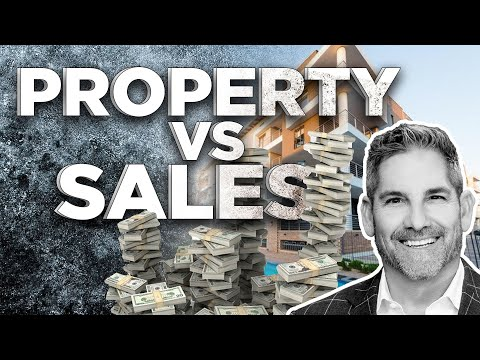 Property Vs Sales Which is better? - Grant Cardone photo