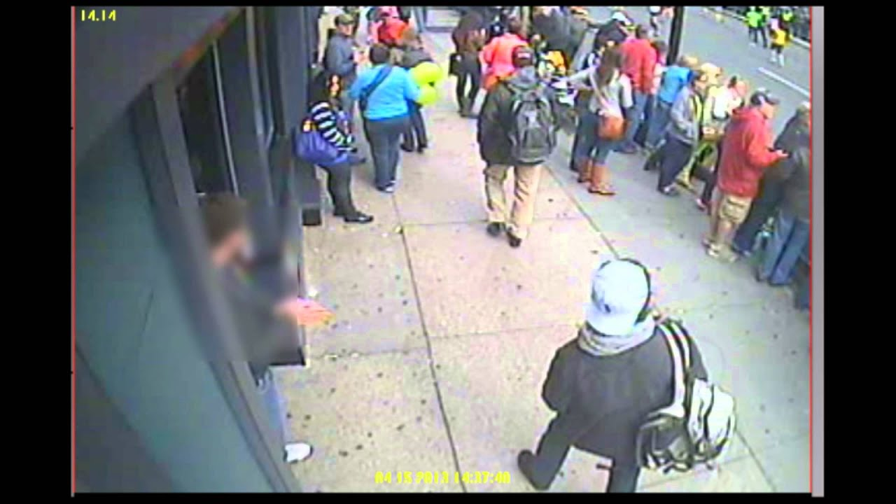 Thumbnail for 21, Apr 2013 - Surveillance Video Related to Boston Bombings
