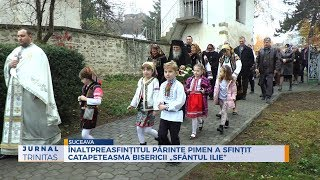 """Inaltpreasfintitul Parinte Pimen a sfintit catapeteasma Bisericii """"Sfantul Ilie"""""""