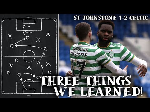 where would we be without Edouard? (St Johnstone 1 2 Celtic)