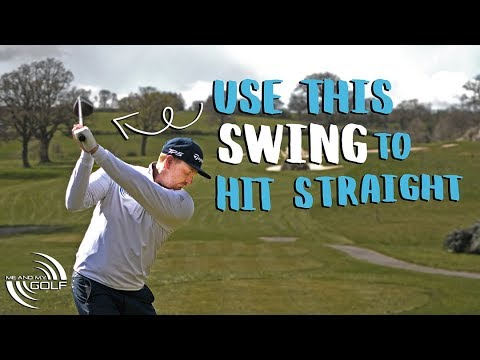 HOW To Build A GOLF SWING That Hits The Ball STRAIGHT | Me and My Golf
