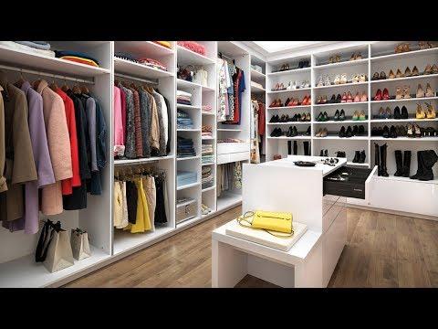 Schmidt walk-in closet - Model: Strass og Arcos - Farve: Everest