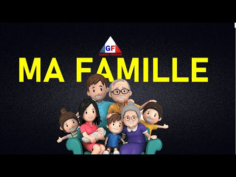 La familia en Francés - Famille en français pour les enfants