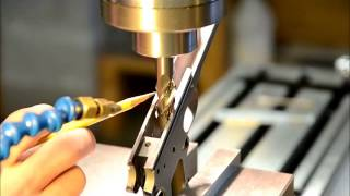 Harp Custom 1911 Gunsmith | 1911 Frame Ramp Machining on a