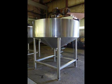 Used- Chester Jensen Dual Motion Cooker-Cooler, 500 Gallon, Model 70N50 - stock # 48705001