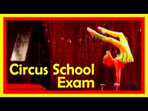 Circus Performers Life: Contortion Acts And Stretching Routine