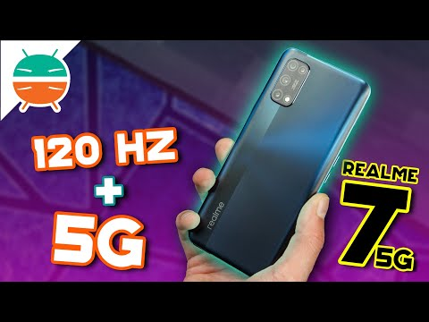 Realme 7 5G: display a 120 Hz e 5G a 229 …