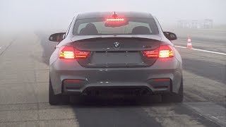 740HP BMW M4 F82 RRahmani Stage 3 – Revs, Top Speed Accelerations  Drag Race!
