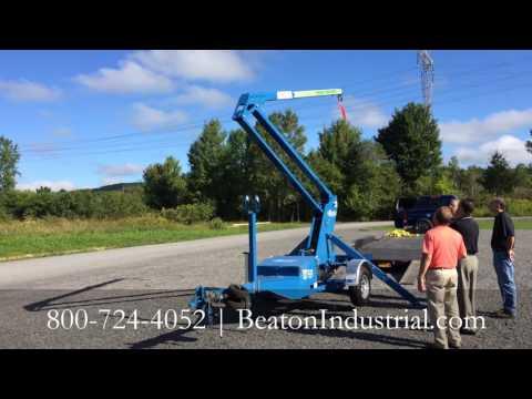 Road Ranger Demonstration - Going Up - Mobile Fall Prevention Anchor Point