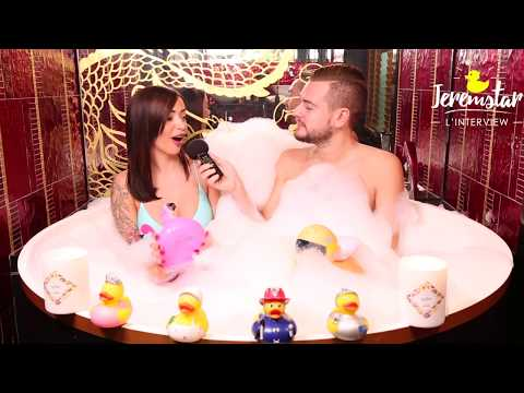 connectYoutube - Jelena (Les Marseillais VS le Reste du Monde 2) dans le bain de Jeremstar - INTERVIEW