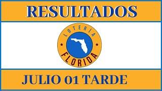 Resultados de la Lotería Florida Tarde de hoy 01 de Julio del 2020