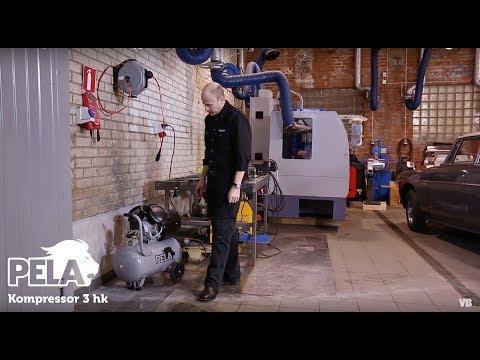 Pela Kompressor 3 hk från Verktygsboden