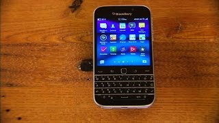 The $449 BlackBerry Classic offers a great keyboard, but a cramped screen