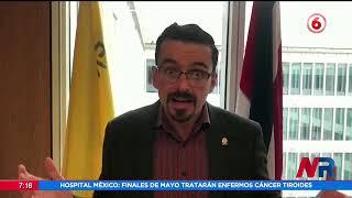 Presidente Alvarado arremete contra Fonatel y cuestiona manejo de recursos