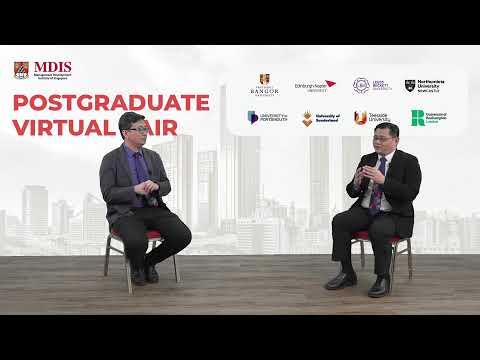 MDIS Post Graduate Virtual Fair 2021 - Our Master's Degree Journey
