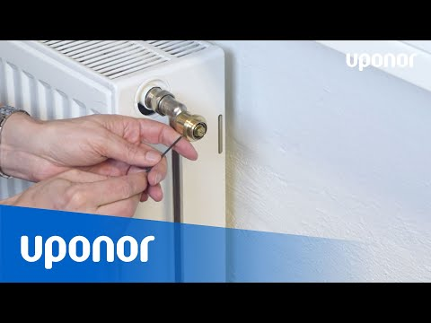 Väggtermostat och Uponor Smatrix Wave Radiatortermostat T-162