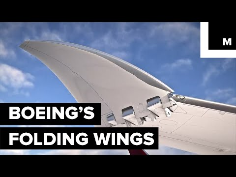 Boeings 777X Wingtips Will Fold