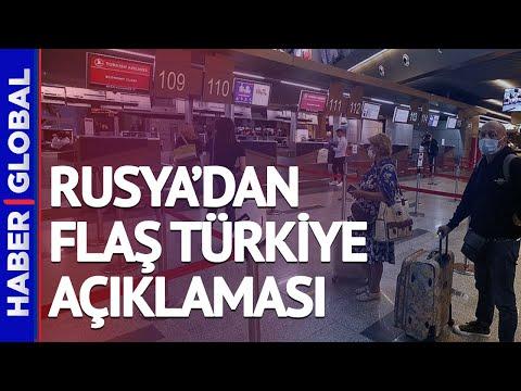 Rusya'nın Türkiye'ye Uyguladığı Uçuş Yasağı Bitiyor mu? Rusya'dan Açıklama Geldi