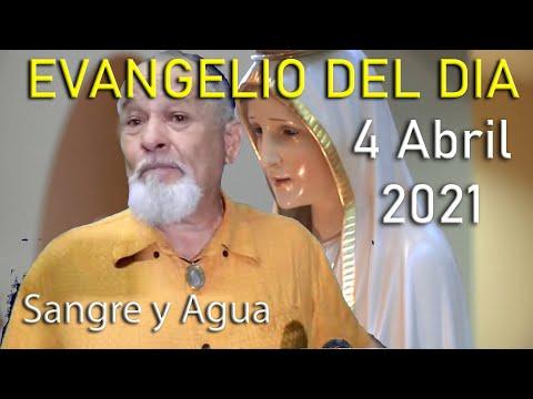 Evangelio Del Dia de Hoy - Domingo de Resurreccion 4 Abril 2021- Sangre y Agua