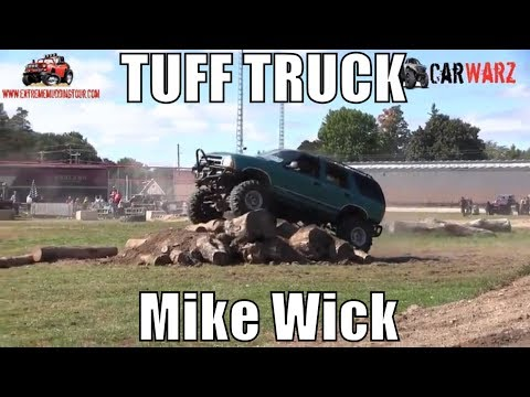 Mike Wick Chevy Blazer First Round Street Stock Class Minto Tuff Truck Challenge 2018