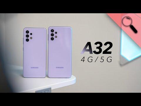 Nagyon NEM mindegy! | Galaxy A32 4G és 5G teszt