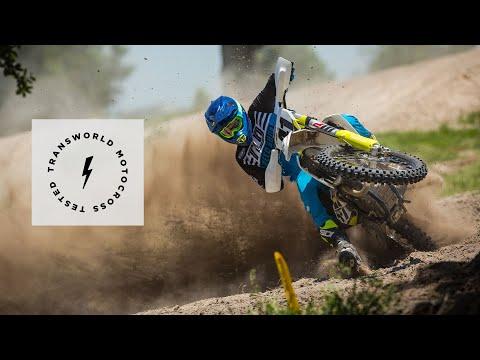 First Impression Test Ride Of The 2019 Husqvarna FC 450 | TransWorld Motocross
