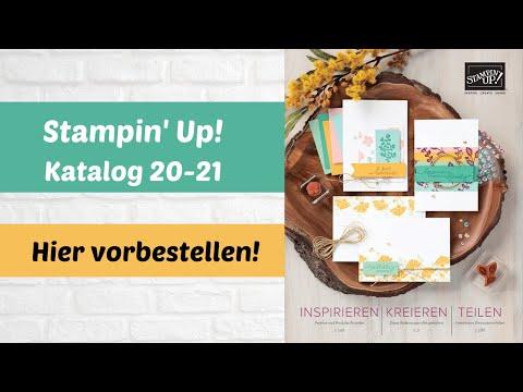 Neue Produkte 20-21 von Stampin' Up!--hier Katalog bestellen
