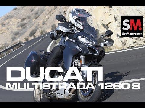 Ducati Multistrada 1260 S 2018: Prueba Moto Maxi Trail (FULLHD)