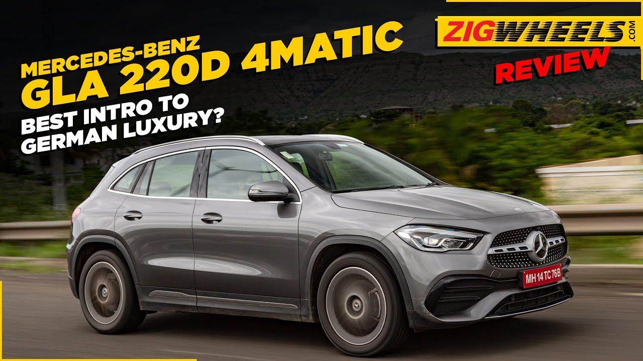 மெர்சிடீஸ் ஜிஎல்ஏ 220d amg line | the perfect intro க்கு லூஸுரி suvs? | zigwheels.com