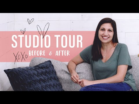 Before + After: Studio Tour