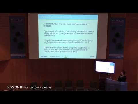 Carine Keppens: Immuno-oncology by MSD: pembrolizumab and beyond