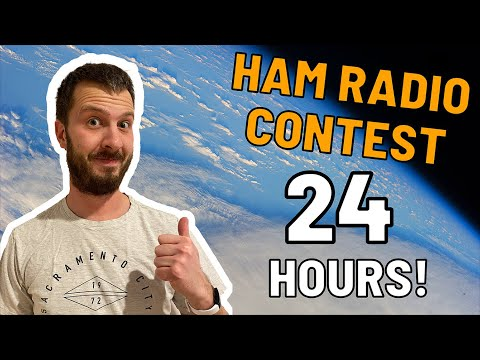 24 Hour Amateur Radio Contest!   How Many Contacts Will I Make?