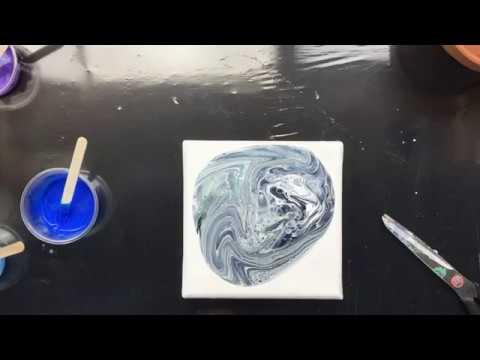 ( 880 ) Mica acrylic pour