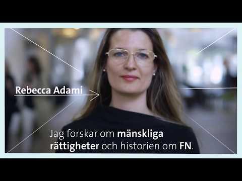 Forskardagarna 2018 - Möt Rebecca Adami