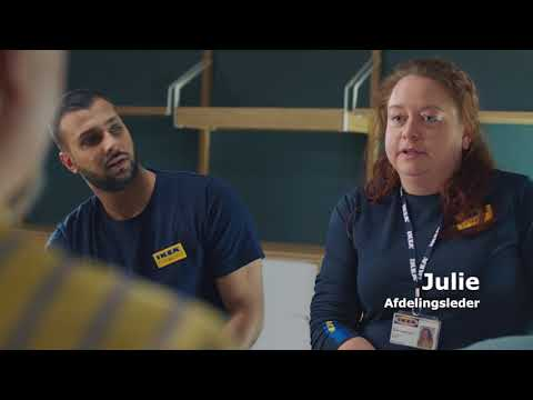Job i IKEA - Julie vidste ikke, hvad hun skulle være, og nu er hun afdelingsleder - IKEA Danmark