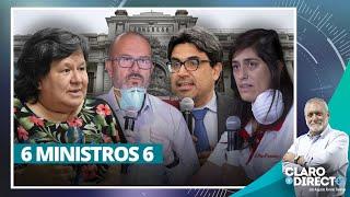 6 ministros 6  - Claro y Directo con Augusto Álvarez Rodrich