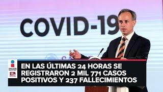 ÚLTIMA HORA: Confirman 93 mil 435 casos positivos y 10 mil 167 fallecimientos por Covid-19